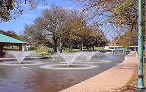Hamilton Creek Park in Burnet