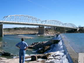 Llano River Park in Llano, Texas